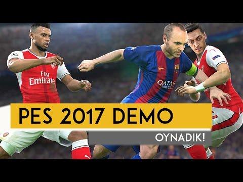 PES 2017 Demo Oynadık (TÜRKÇE)