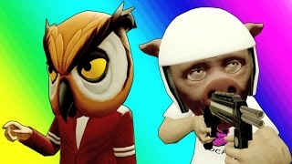 Gmod Prop Hunt Funny Moments - BIG Head Mario! (Garry's Mod Little Hunter Edition)
