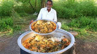 Vegetable Biryani Recipe | Veg Biryani Cooking by our grandpa for  little Children