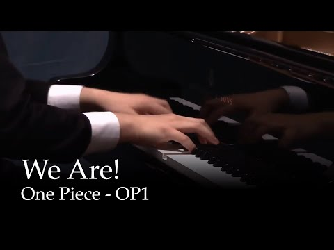 We Are! - One Piece OP1 [piano]