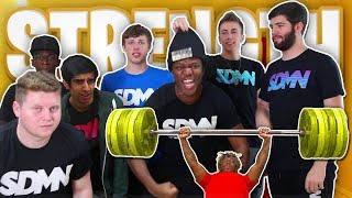 SIDEMEN STRENGTH TESTS