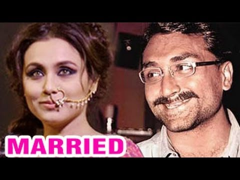 Rani Mukherjee & Aditya Chopra's Romantic Wedding In Italy | Finally Married | video