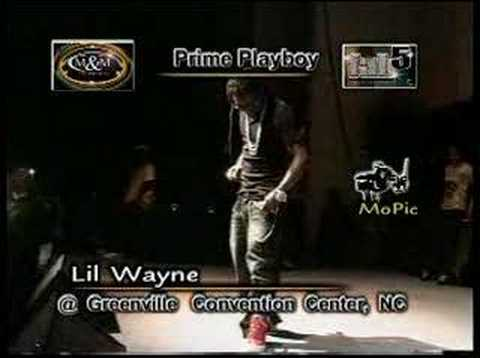 LiL Wayne Live ( Trying To Do The Soldier Boy)
