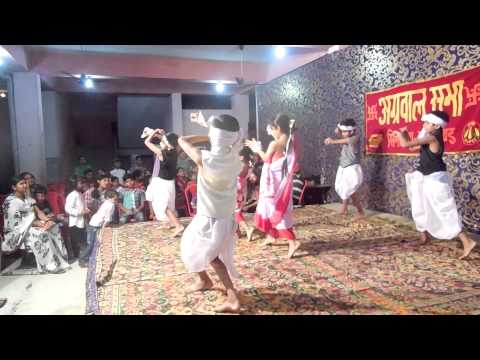 Jharkhandi Dance In Agarsen Jyanti Simdega 2013 video