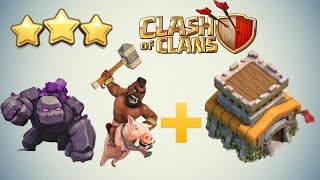 "Clash of Clans - BEST TH8 3 Star Attack Strategy Guide ""Post Update"""