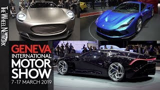 2019 Geneva Motor Show Premieres – New Cars A to Z