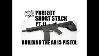 Building the Ultimate Lightwieght AR Pistol, Pt 2, Installing an Ergo grip