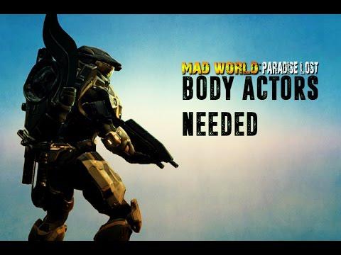 BODY ACTORS NEEDED!! Halo 2 Anniversary! / Mad World 2