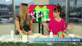 Parental Guidance - Bailee Madison: Building Gingerbread Houses & 'Parental Guidance' Interview