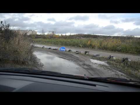 20.10.2012. Внедорожный тест-драйв Suzuki SX4