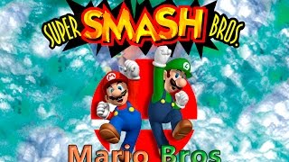 Super Smash Bros 64. 1P Mode Mario Bros