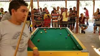 Croket de Manaus vs Vavá de Porto Velho um super jogo de sinuca.