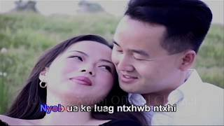 Maiv Xyooj - Kua Muag Poob with Lyrics (Original Music Video)