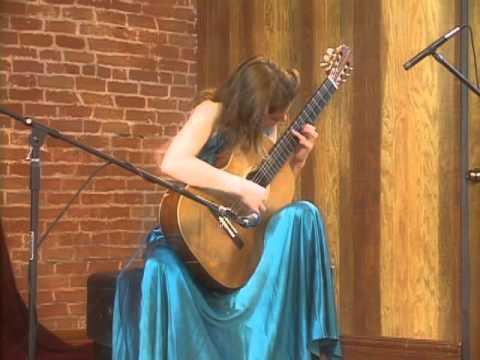 Ana Vidovic - Sonata For Guitar In A Major