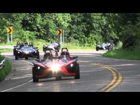 The Polaris Slingshot takes to the open road in Dakota County.