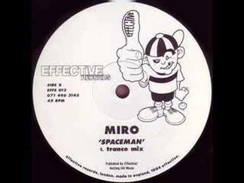 MIRO - Spaceman (Trance mix)