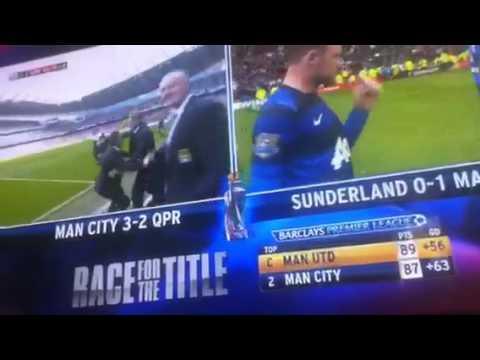 Manchester City 3-2 QPR (last 5 mins)