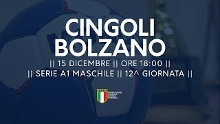 Serie A1M [12^]: Cingoli - Bolzano 24-25