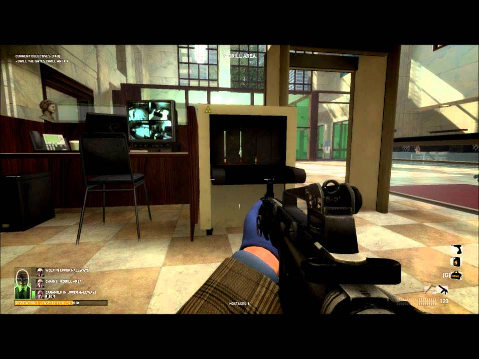 Payday 2 casino heist gameplay