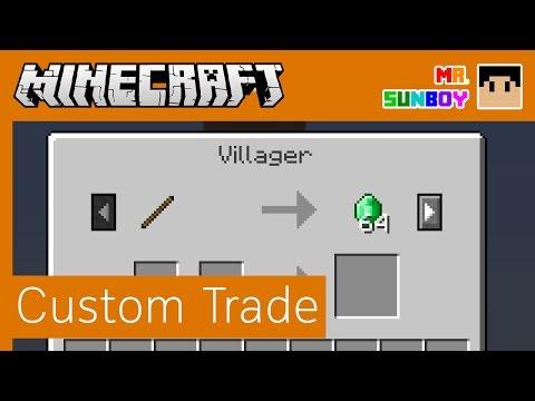 Minecraft Commands [Thai]: กำหนด Villager Trade ได้เอง