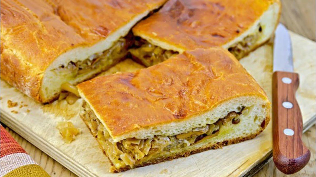 Нежный пирог с капустой рецепт пошагово