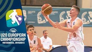 LIVE - Hungary v North Macedonia - FIBA U20 European Championship Division B 2019