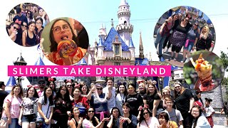 Slimers Take Disneyland ; includes rides, food, fireworks and SLIME!