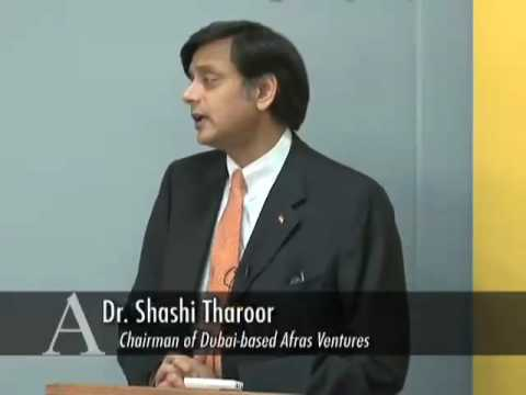 CPD Distinguished Speaker Series: Shashi Tharoor - INDIA
