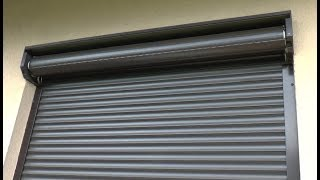 How to repair external roller blind - broken hanger - window shutter repair
