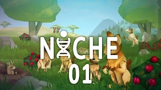 Niche Genetics Survival Game #01 Breeding - Gameplay / Let's Play