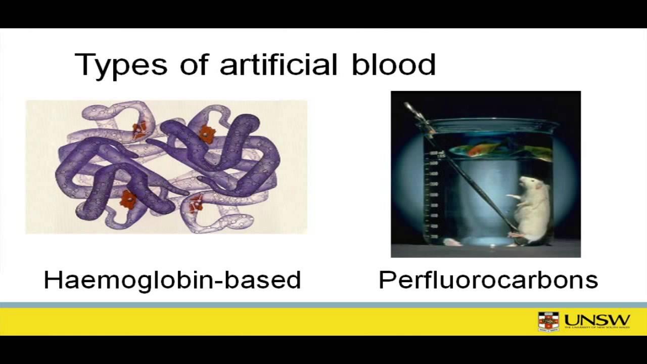 Advantages Of Artificial Blood