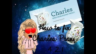 MSP♥ - How to Fix Charles Proxy 4.2.1 (2017 - 2018)(PATCHED) 2.1 MB