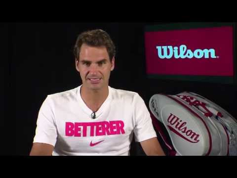 Wilson Roger Federer Satellite Interview