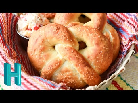 Homemade Soft Pretzels! Hilah Cooking