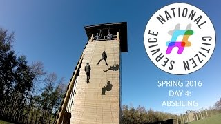 NCS National Citizens Service Spring 2016: Abseiling