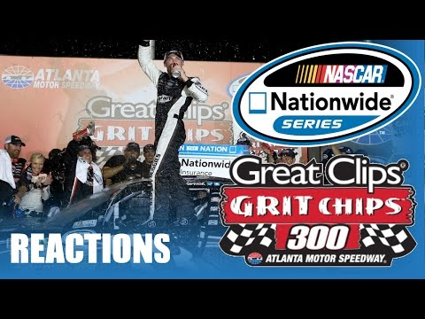 2013 Great Clips Grit Chips 300 Reactions (Birthday Special)