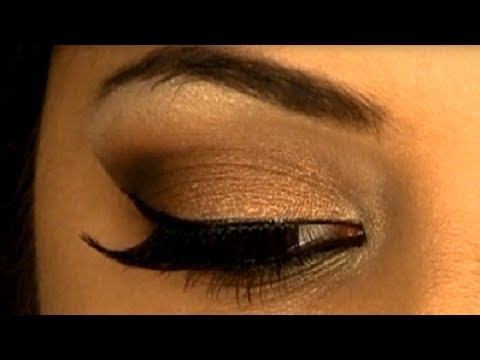 Glamorous & Sexy Bronze Smokey Eye For Brown/Tan or Indian Skin Tone