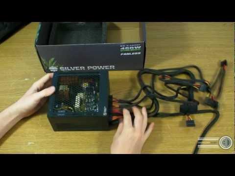 Silver Power 460W Fanless Passive PSU - SP-S460FL