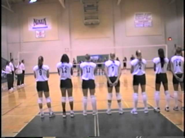 1997 Golden West College Women's Volleyball State Finals Vs El Camino