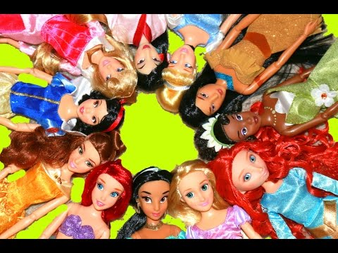 Disney Princess Doll Collection 12