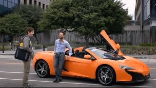 Russ Hanneman McLaren - Billionaire Doors - Car Scenes - Silicon Valley