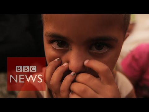 Islamic State: Yazidi women & children trafficked for sex - BBC News
