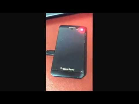 Blackberry Z10 death - red light bucle