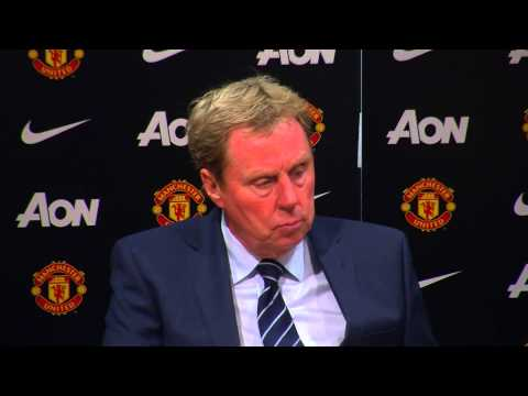 #MUNvQPR I HARRY REDKNAPP'S POST MANCHESTER UNITED PRESS CONFERENCE