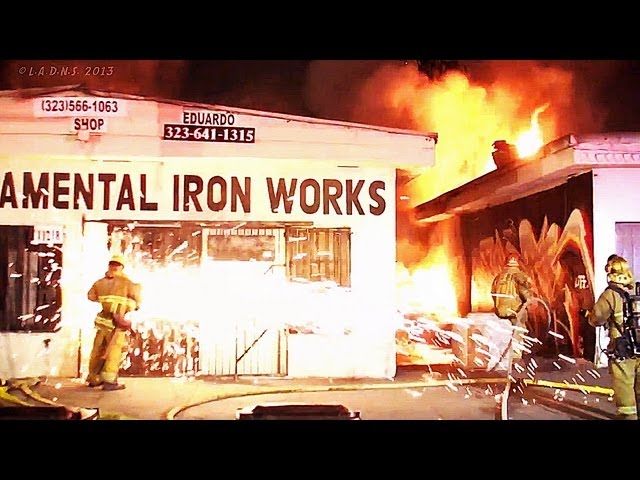 LAFD / Watts Commercial Fires
