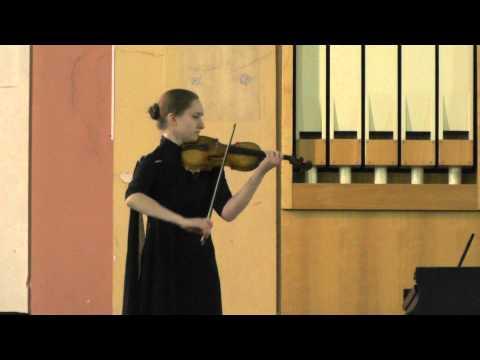 Иоганн Себастьян Бах - Соната для скрипки соло №2 ля минор