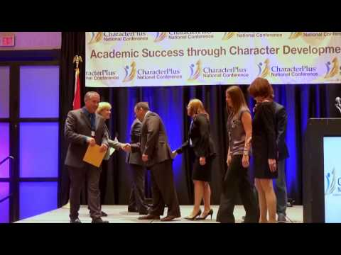 Oakville Middle School of Character Award at National Convention
