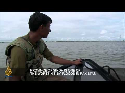 Inside Story - Pakistan's flood crisis