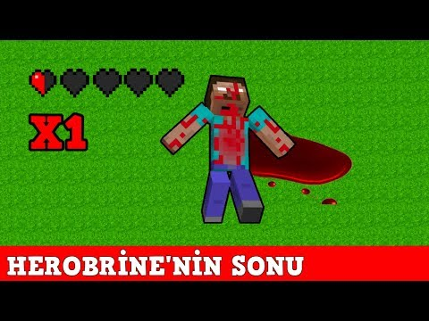 ZENGİN VS FAKİR #163 - Herobrine Sonu (Minecraft)