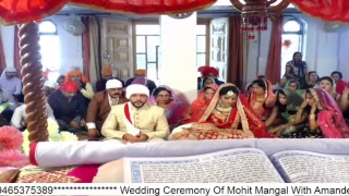 INDIA FUN TV Live . Ring Ceremony Of Mohit Mangal With Amandeep Kaur